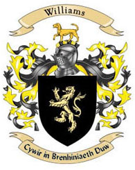Williams Family Coat of Arms